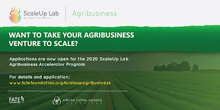 Fate Foundation ScaleUp Agribusiness Accelerator Programme 2020