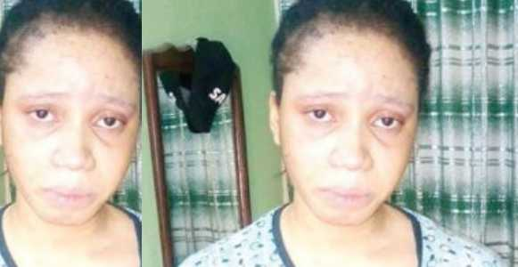 Pretty FUTO Undergraduate Arrested For Allegedly Stabbing Boyfriend To Death In Imo State (Photo)