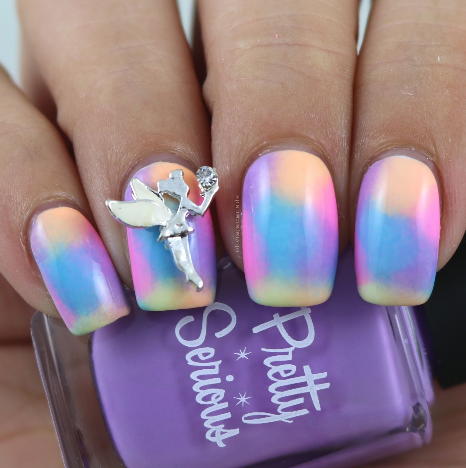 Olivia Jade Nails: 26 Great Nail Art Ideas Challenge - Embellished/3D