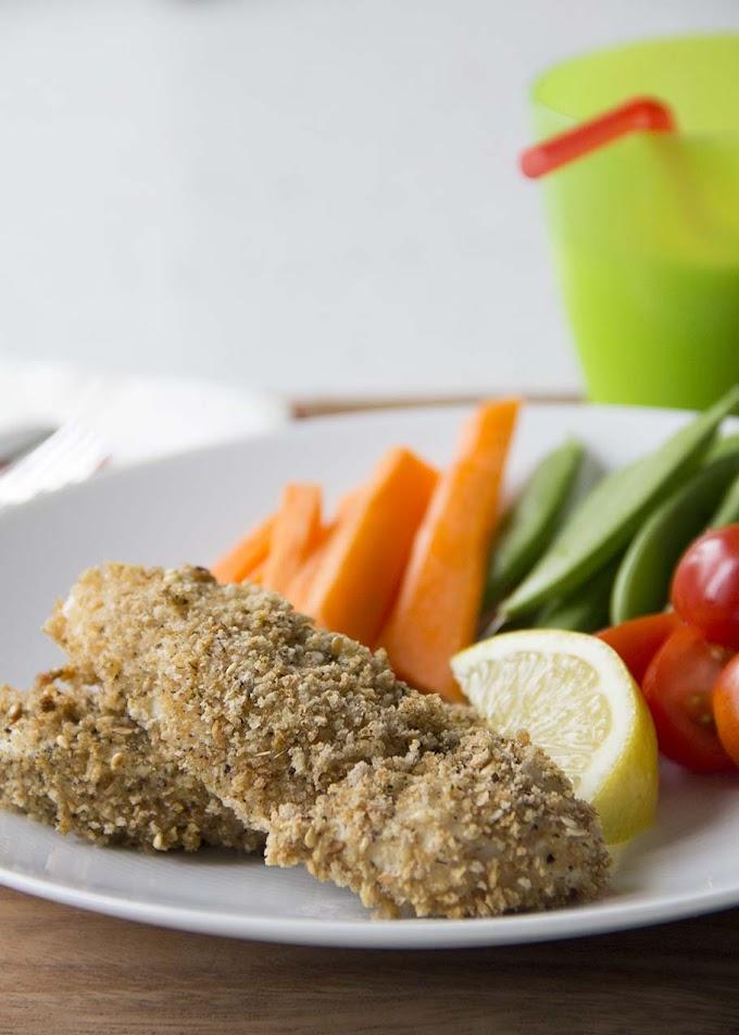 How to make chicken breasts taste good, part I (Oven-baked Crispy Chicken)
