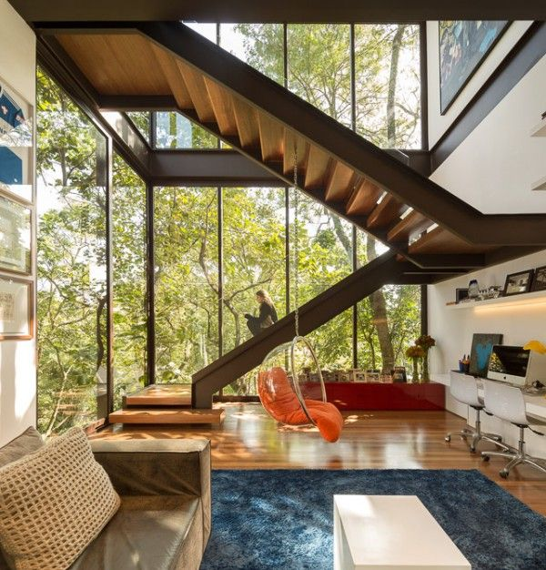 front staircase house design