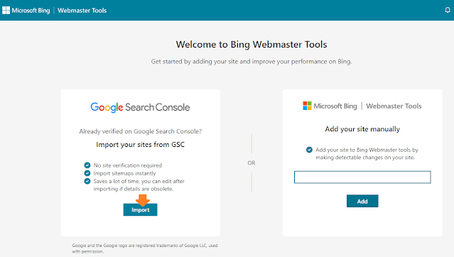 How To Connect Website To Bing Webmaster Tools | Bing Search Console 5