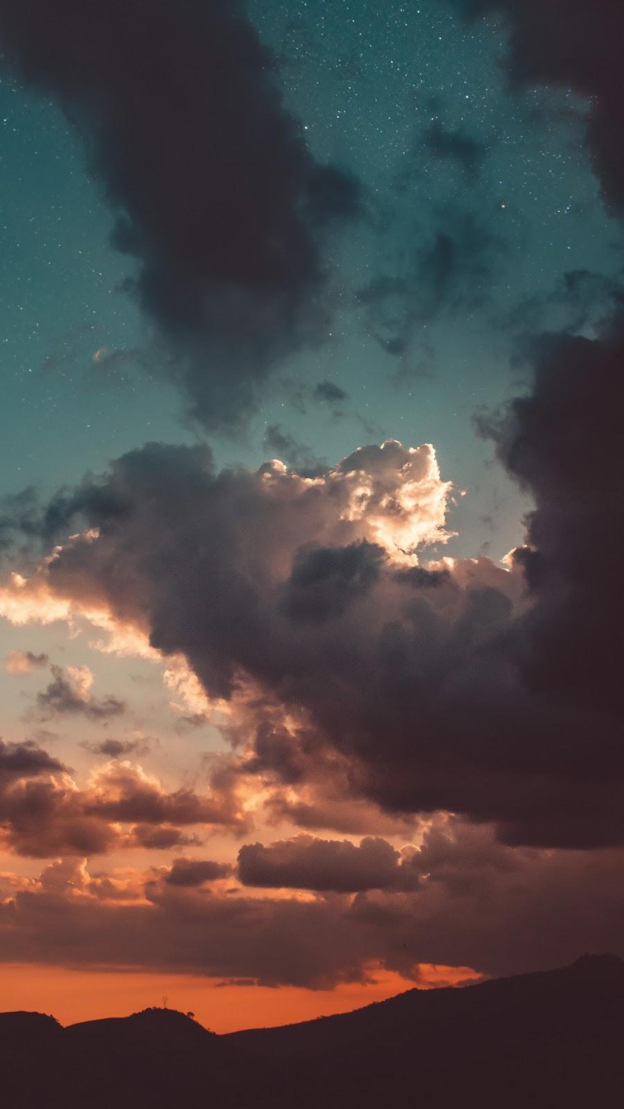 Bầu trời sao giữa đêm