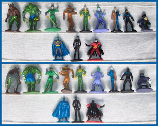 2017, Batman, Cat Woman, DC Characters, DC Comics, Interactive Books, Killer Croc, Man Bat, Man-bat, My Busy Book, Naughty Pussy, Penguin Toy, Phidal Publishing, PVC Figurines, Ra's Al Ghul, Robin The Boy Wonder, Scarecrow, Sexy Babe, Small Scale World, smallscaleworld.blogspot.com, Super Girl, Super Hero, Superheroes, Superman, The Dark Knight, The Joker, The Penguin, The Riddler, Two Face, 12 Figurines, Close Up Shots