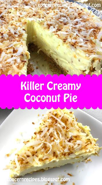 Killer Creamy Coconut Pie