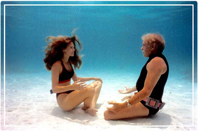 L'homme dauphin, sur les traces de Jacques Mayol et Mehgan Heaney-Grier