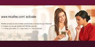 how to activate McAfee.com/MTP/Retail Card