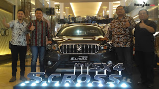 Launching New SX4 S-Cross di Bandung