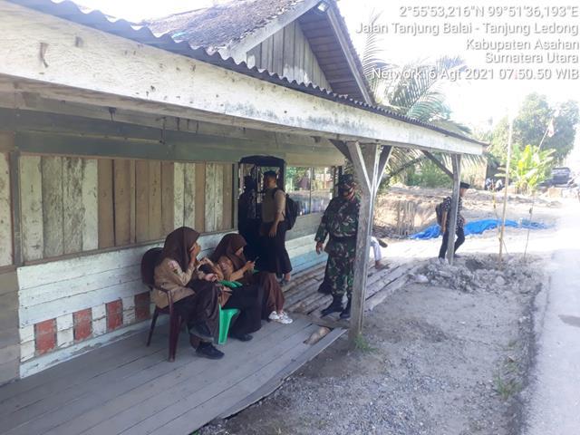 Melaksanakan Komsos Dengan Siswa Siswa SMK DIlakukan Oleh Personel Jajaran Kodim 0208/Asahan
