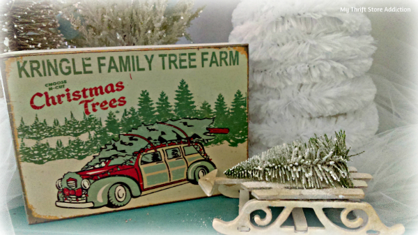 A Thrift Store Christmas Tree Farm