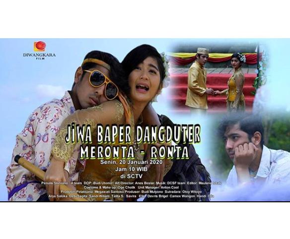 Daftar Lengkap Pemain FTV Jiwa Baper Dangduter Meronta Ronta