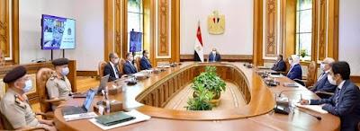 """الرئيس السيسي يتابع الموقف التنفيذي لإنشاء """"الشبكة الوطنية الموحدة للطوارئ والسلامة العامة"""