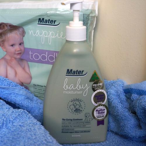 mater mothers' hospitals baby moisturiser | awayfromtheblue