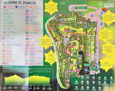Parco Giardino Sigurtà brochure.