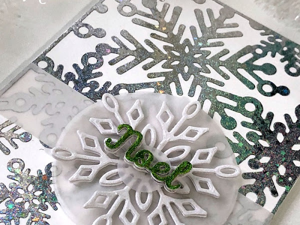 4 Crafty Chicks - #429 Snowflakes