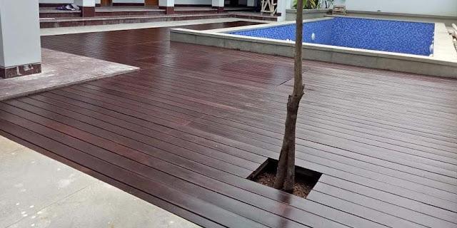 step by step cara pemasangan decking kayu secara lengkap