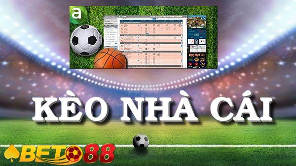 Kèo bóng đá trực tuyến  Soi kèo bóng hôm nay tại Beto88