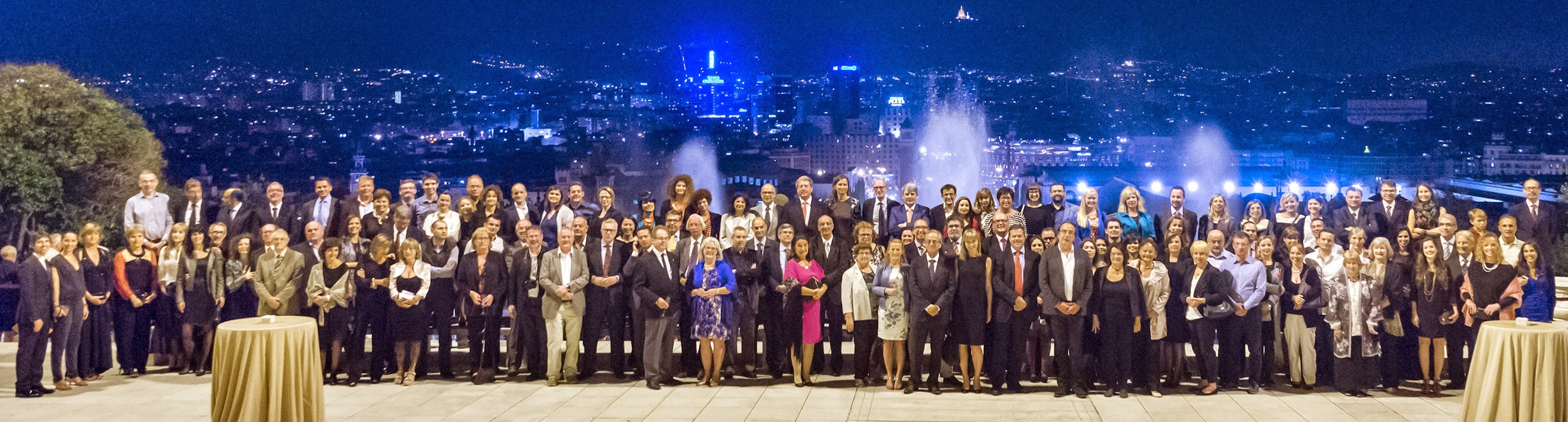 Group photo from AGM 2014 in Barcelona, Spain