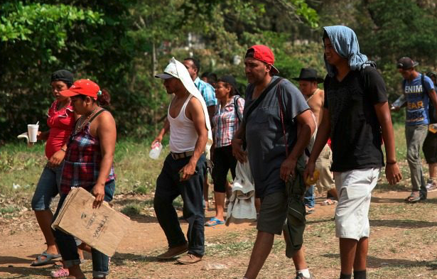Mexican Government: Migrant Caravan was Previously Unimpeded Yearly Event