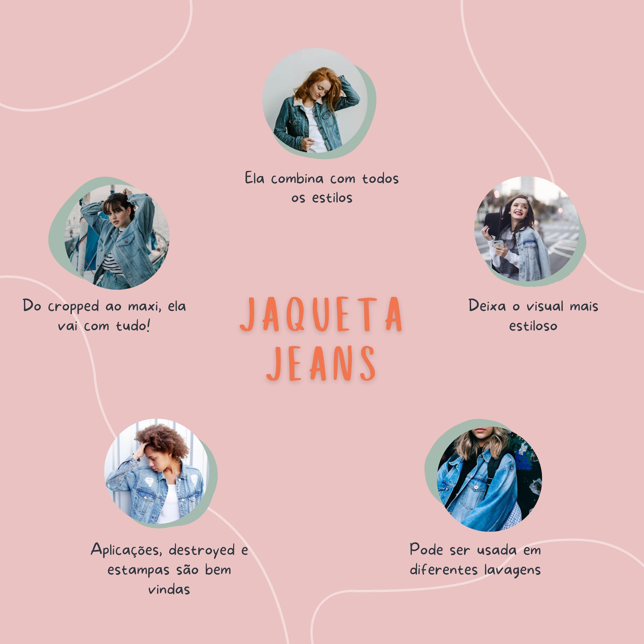 Jaquetas jeans para todos os estilos