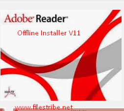 Adobe Reader Latest Version 11 Offline Installer Free Download