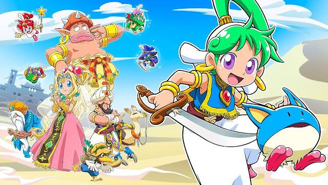 Wonder Boy: Asha in Monster World será lançado no Switch em 28 de maio