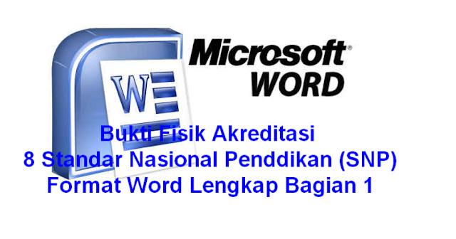 download gratis BUkti Fisik Akreditasi bagian 1