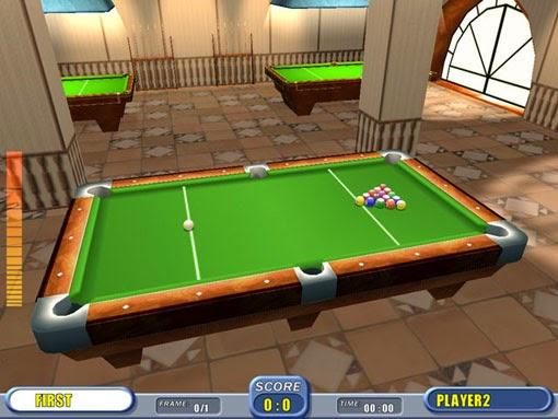 لعبة البلياردو pool للكمبيوتر