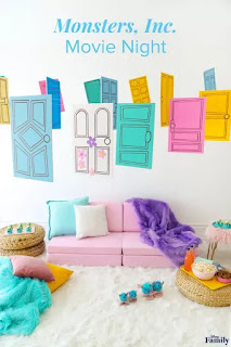 free printable monster inc decorations