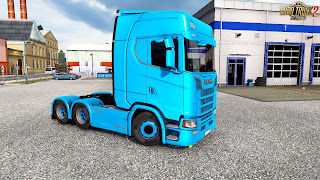 mod Scanie New generation ets2