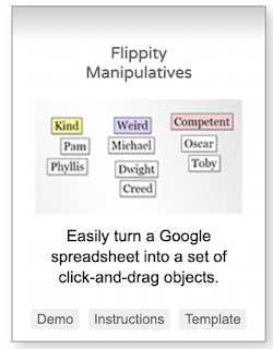 A Simple Free Tool to Create Your Own Manipulatives to Use in Class