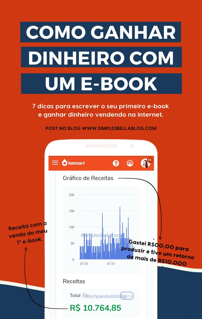 Como criar o seu 1° e-book e ganhar dinheiro (PASSO A PASSO)