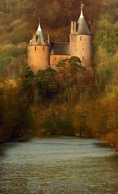 Castle Coch, the pink castle, Cardiff, Wales, UK | A Cup of T
