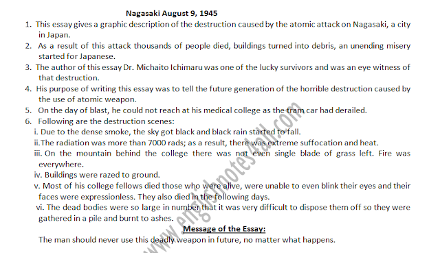 ba english modern essay nagasaki