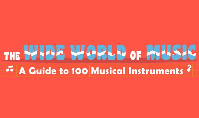 A Guide to 100 Musical Instruments