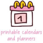 Calendars and Planners