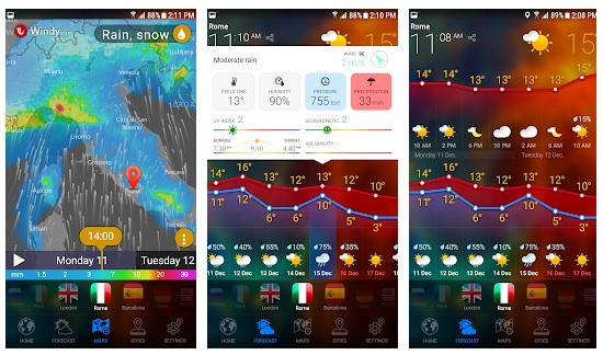WEATHER NOW