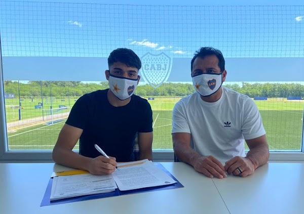 Oficial: Boca Juniors, renueva Exequiel Zeballos hasta 2025