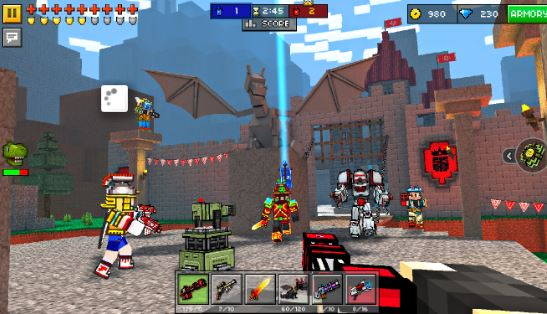 Pixel Gun 3D (Pocket Edition) Apk mod money