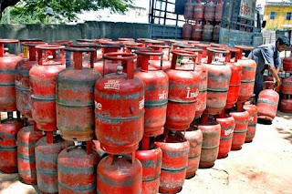 LPG Gas cylinder price hike from 1st November