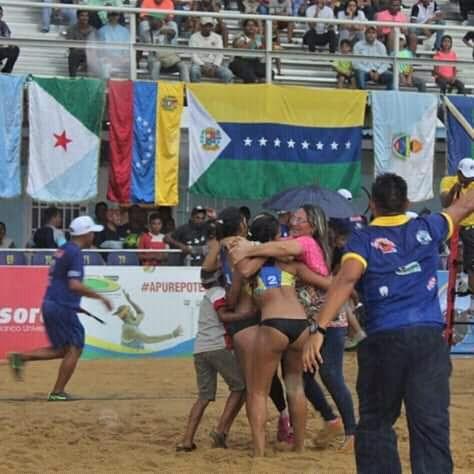 APURE: Danz Anzoátegui campeón en final voleibol de Playa en San Fernando.