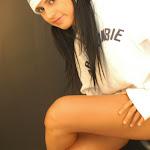 Andrea Rincon, Selena Spice Galeria 19: Buso Blanco y Jean Negro, Estilo Rapero Foto 72