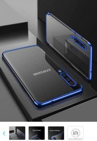 Capa Tpu Premium Clear Samsung Galaxy A50