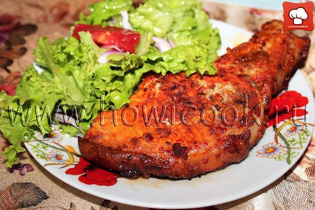 рецепт свинины с аджикой