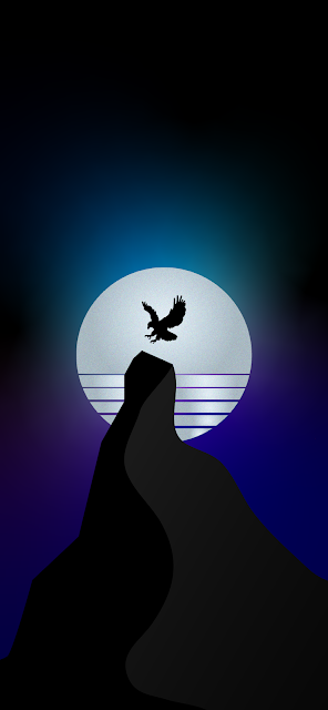 eagle-synthwave-wallpaper-for-iphone-and-android-mobile