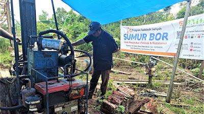 BMH Salurkan Bantuan Sumur Bor untuk Pesantren di Makroman Samarinda