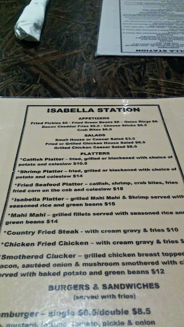 All Aboard to Isabella Station Trinka Polite Feasting on the Divine