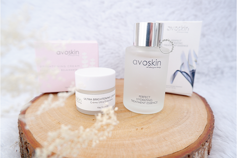 Avoskin Ultra Brightening Cream and Perfect Hydrating Treatment Essence