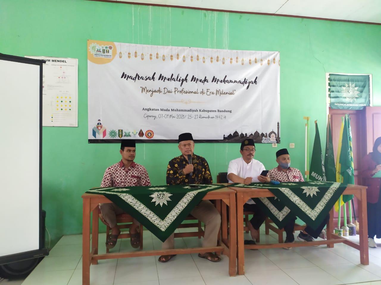 Sambutan Ketua PDM Kab Bandung