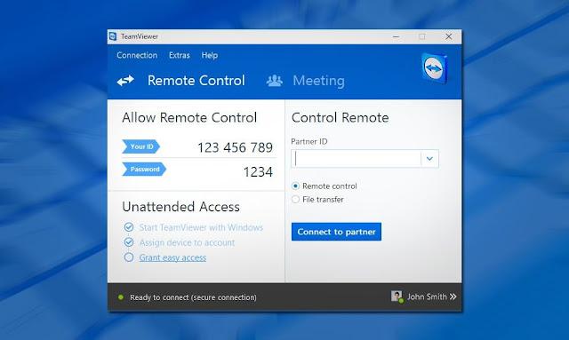 Download TeamViewer  للأندرويد الويندوز
